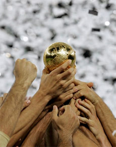 Spain win world cup 2010