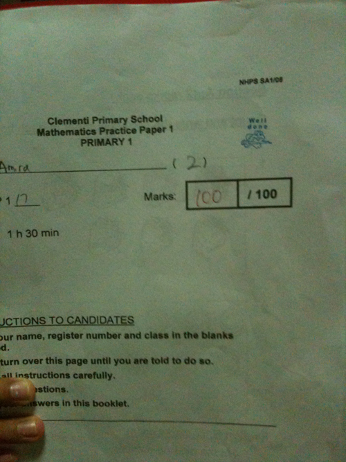 Amira first 100 marks