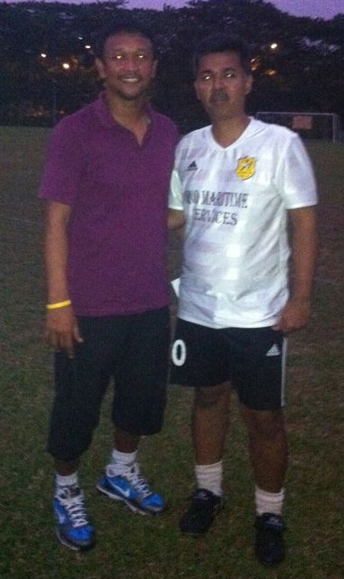 Me and Fandi Ahmad