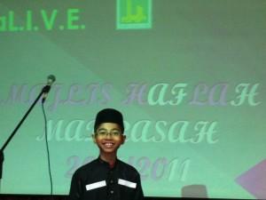 Amirul madrasah award ceremony