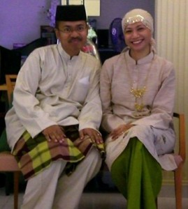 Me and lovely wife