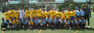 Kranji Primary School Football Overseas Exchange Vietnam 2012