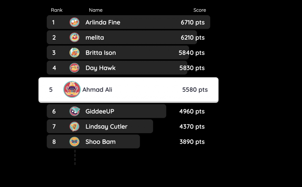 Quizizz to gamify your quizzes for your students | Ahmad Ali